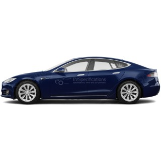 2016 Tesla Model S P90DL Ludicrous