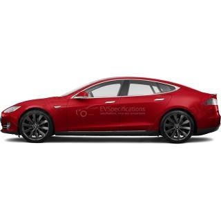 2015 Tesla Model S 70D 140kW+140kW