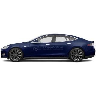 2015 Tesla Model S P85D 165kW+350kW