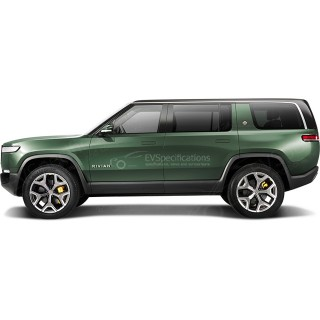 2020 Rivian R1S 135 kWh