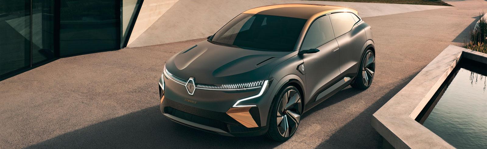 Renault introduces the Mégane eVision based on the CMF-EV platform