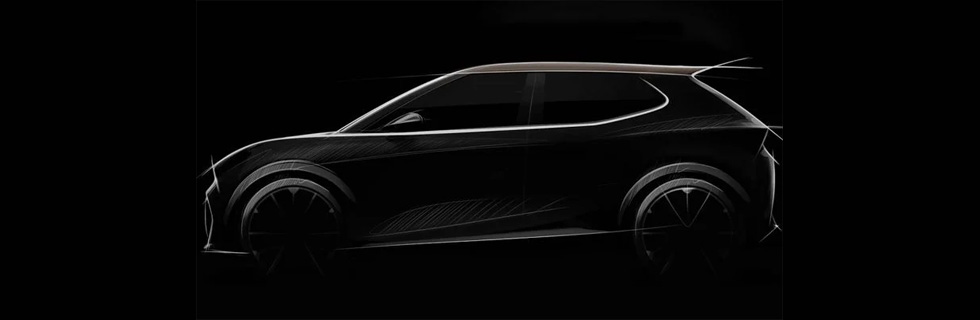 SEAT teased a small electric SUV that will be build by several brands within Volkswagen Group
