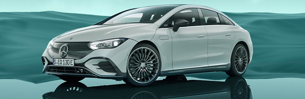 Mercedes-Benz EQE goes official, starting with the Mercedes-Benz EQE 350 model