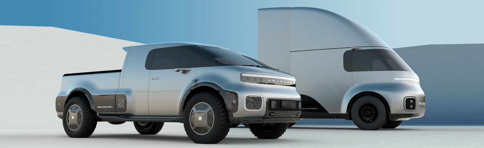 Neuron EV showcases the T/ONE and TORQ at the CIIE in Shanghai