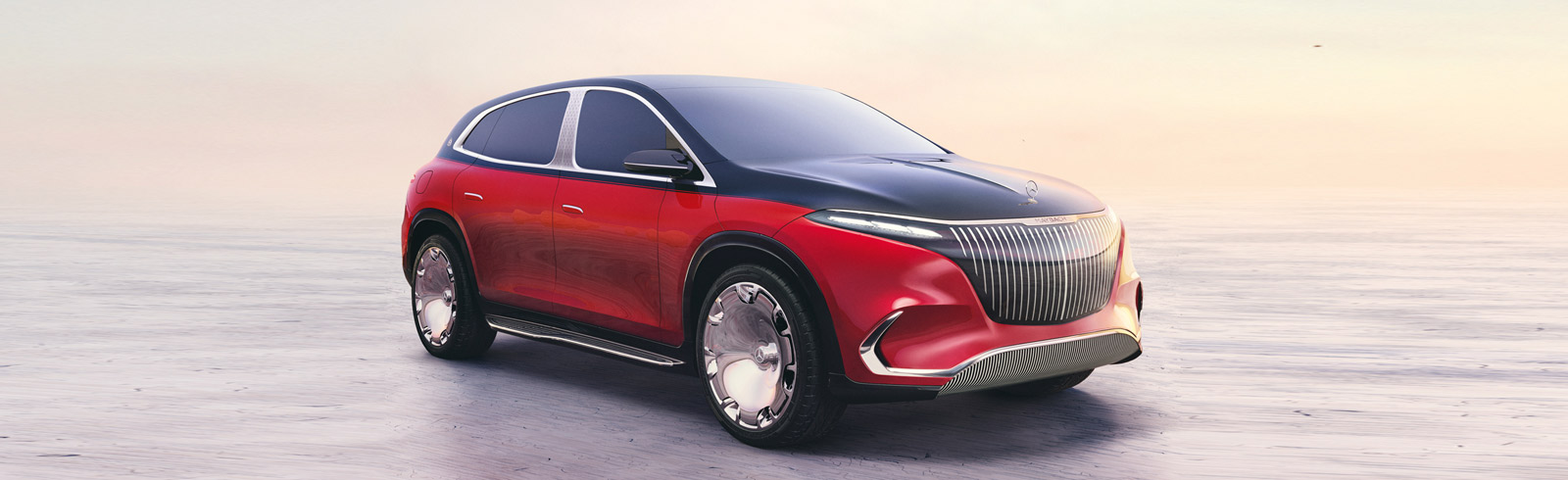 The Mercedes-Maybach Concept EQS is presented at IAA Mobility 2021