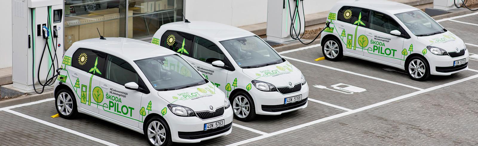 Škoda CITIGO E-PILOT prototypes are tested in real life conditions