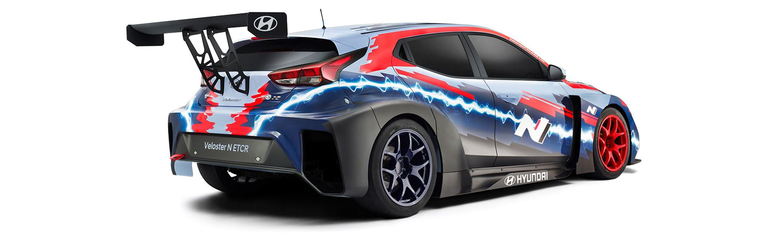 Hyundai Motorsport unveils its first all-electric race car - the Veloster N ETCR