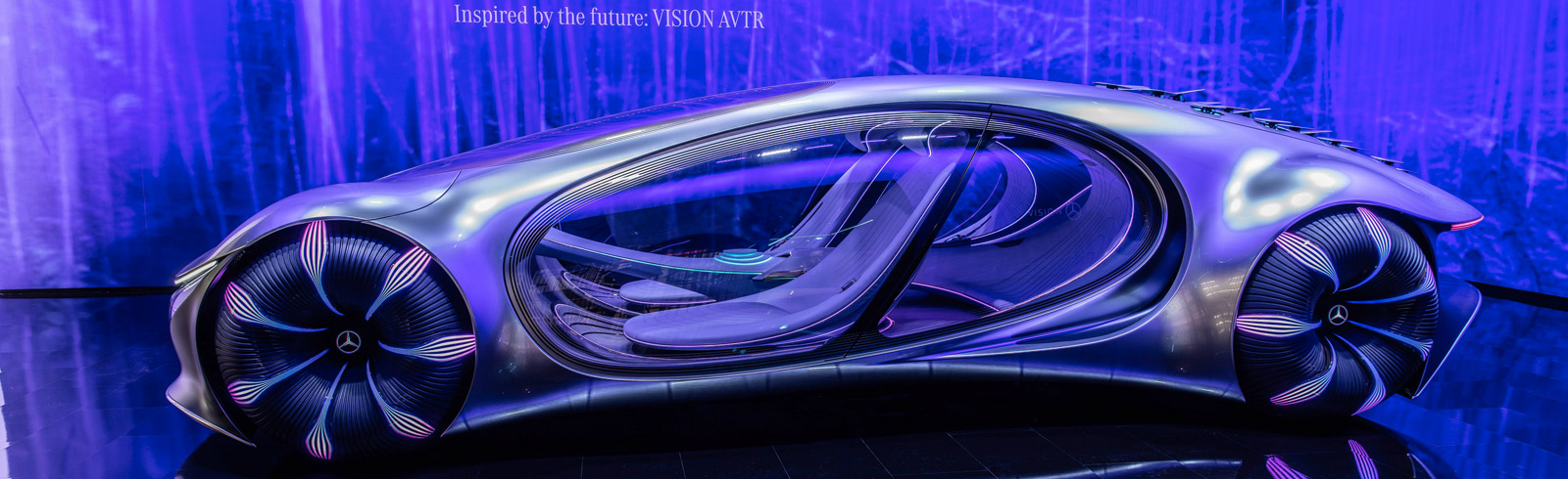 The Mercedes-Benz VISION AVTR presents the Brain Computer Interface