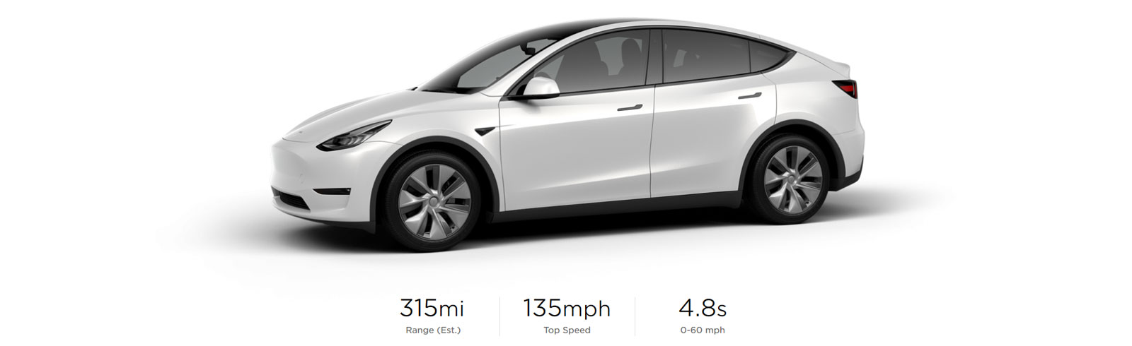 Tesla Model Y range increases to 315 miles, first deliveries are scheduled for March