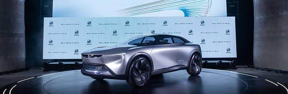 SAIC-GM unveils the Buick Electra EV concept