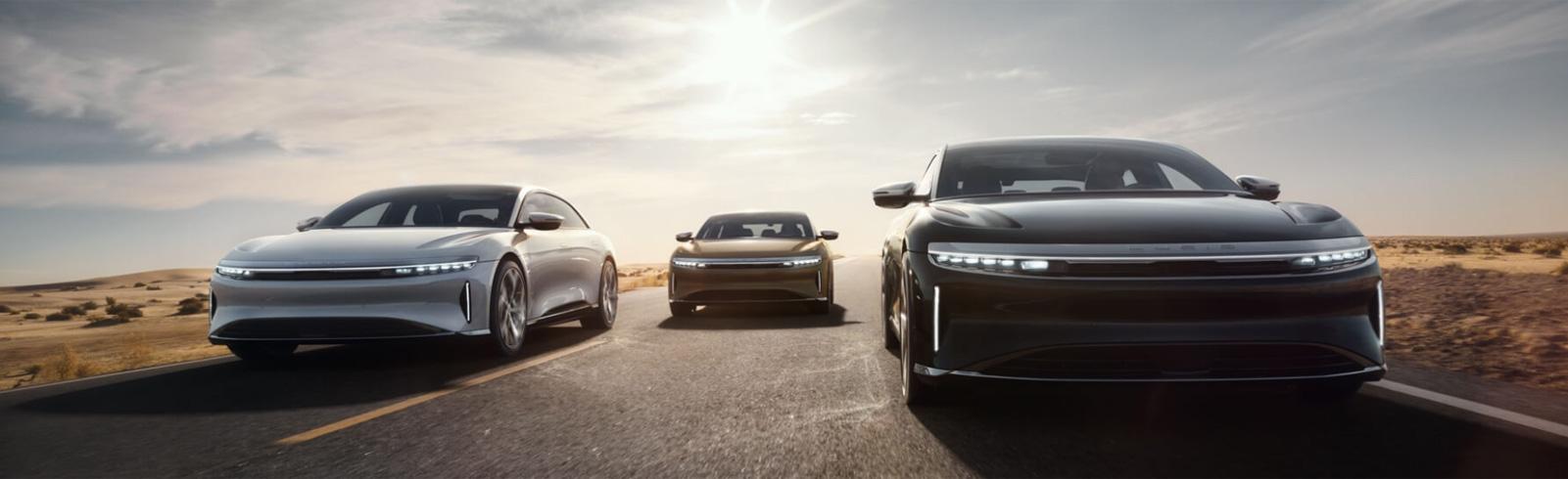 Lucid Motors introduced the Lucid Air all-electric luxury sedan