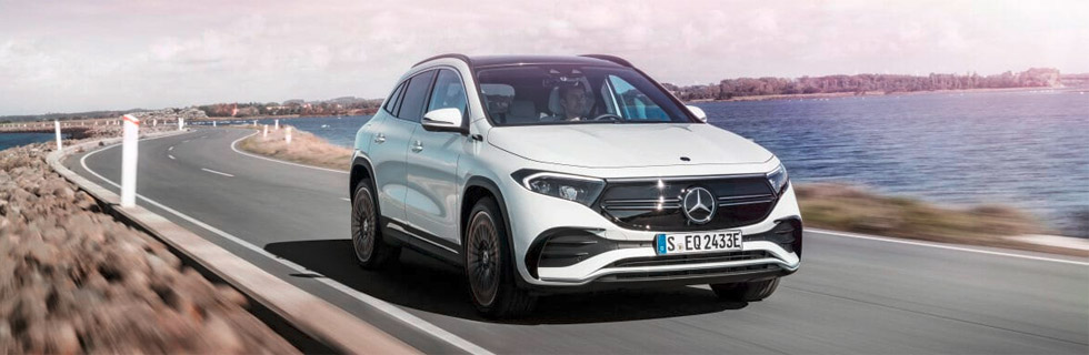 The Mercedes-Benz EQA is now available for order, prices start at 47,540.50 euros before 9,000 euros subsidy