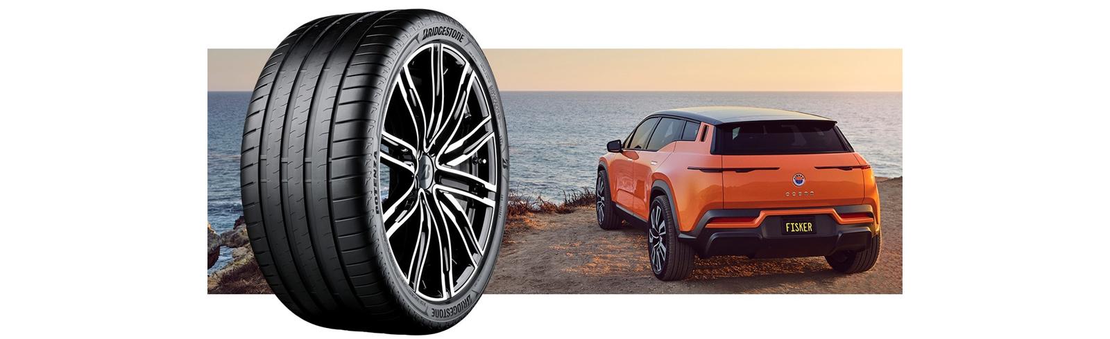 Fisker Ocean will be equipped with Bridgestone tires