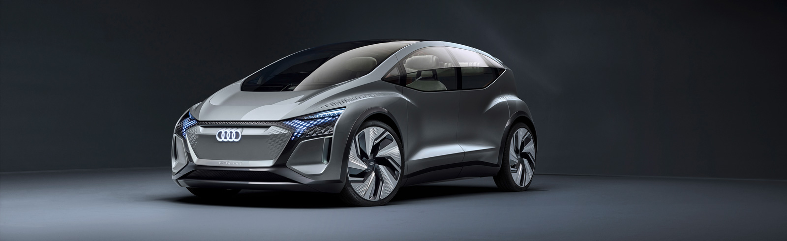 Audi AI:ME - an E-class city car with a 65 kWh battery and 125 kW