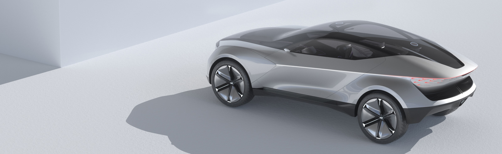 The Kia Futuron Concept is the design preview of an electric SUV coupe
