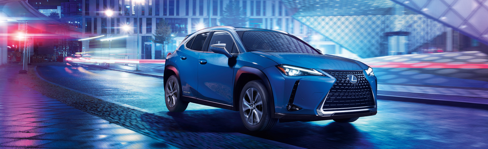Toyota premiers in China the first Lexus EV - the Lexus UX 300e