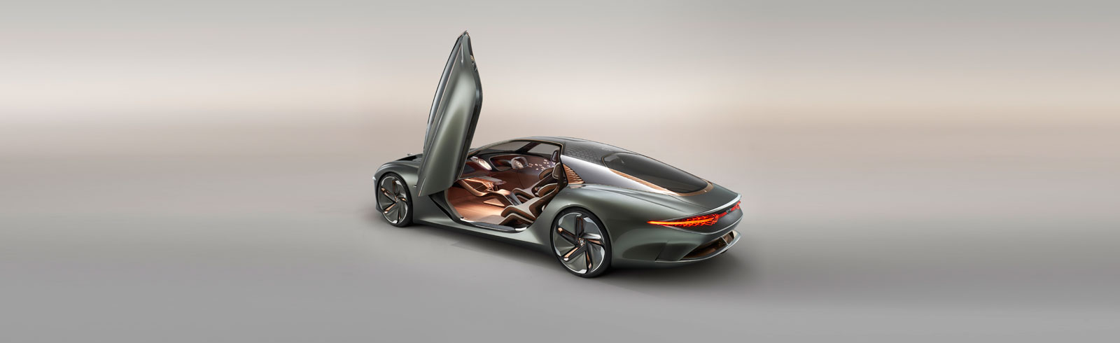 The Bentley EXP 100 GT concept is unveiled as the epitome of luxurious electric mobility of the future