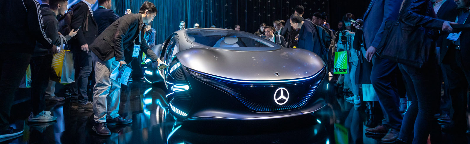 The VISION AVTR concept by Mercedes is inspired by the Avatar film