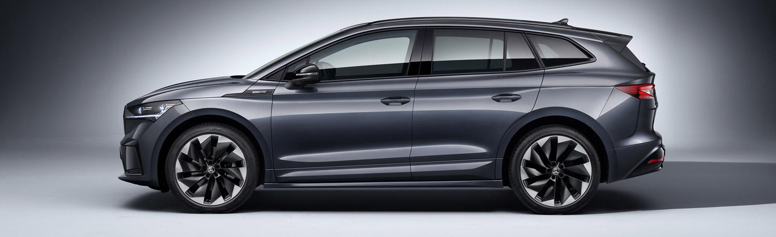 The Škoda Enyaq Sportline iV goes official