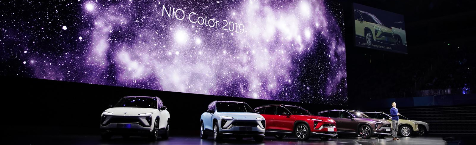 NIO introduces the ES6 all-electric SUV with dual electric motors