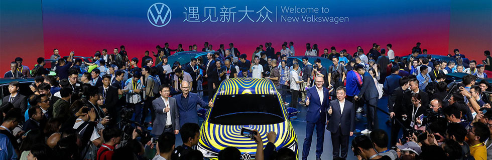 Volkswagen plans to sell 28 million BEVs worldwide by 2028, more than 50% of those - in China