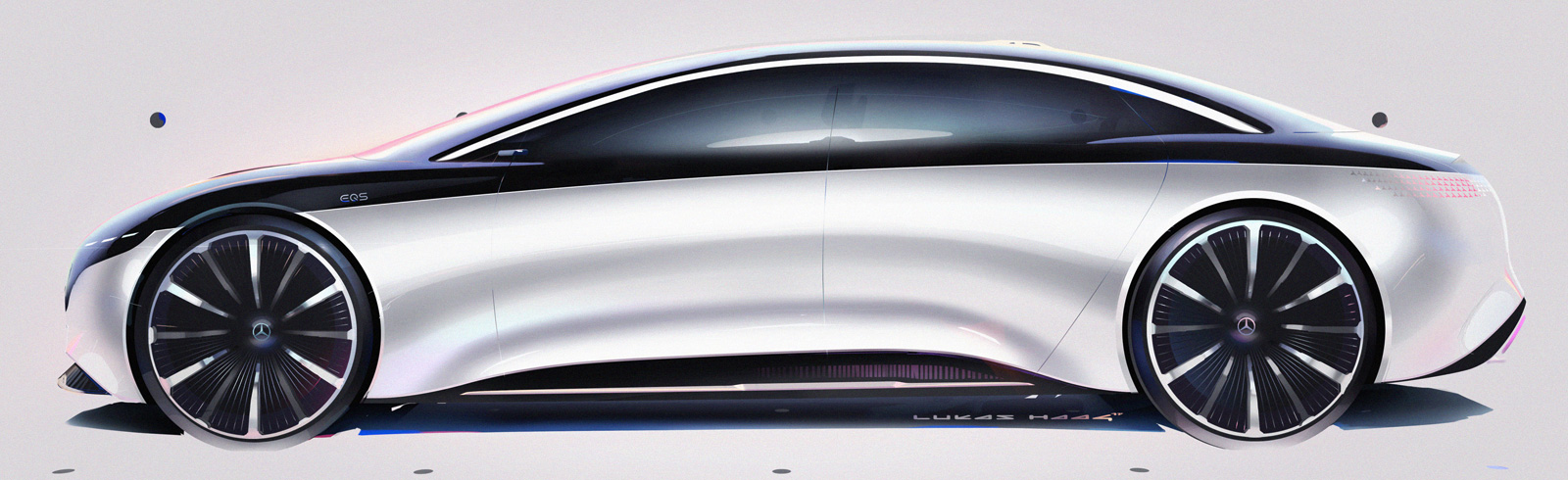 Mercedes-Benz Vision EQS is officially unveiled with a range of 700 km