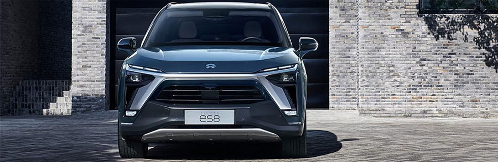 The new NIO ES8 goes official in China