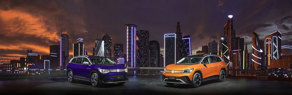FAW VW and SAIC VW unveiled in China the ID.6 CROZZ and ID.6 X, respectively