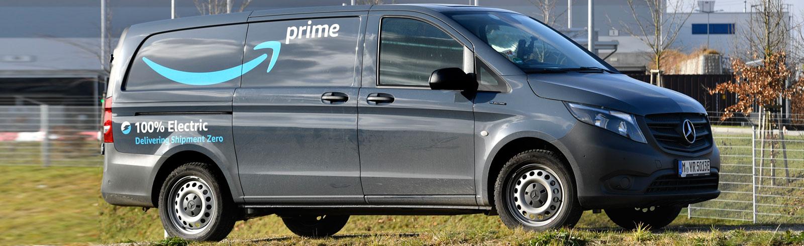 Amazon launches 10 Mercedes-Benz eVito vans in Munich