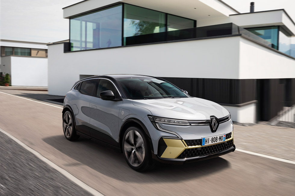 The Renault Mégane E-TECH Electric goes official