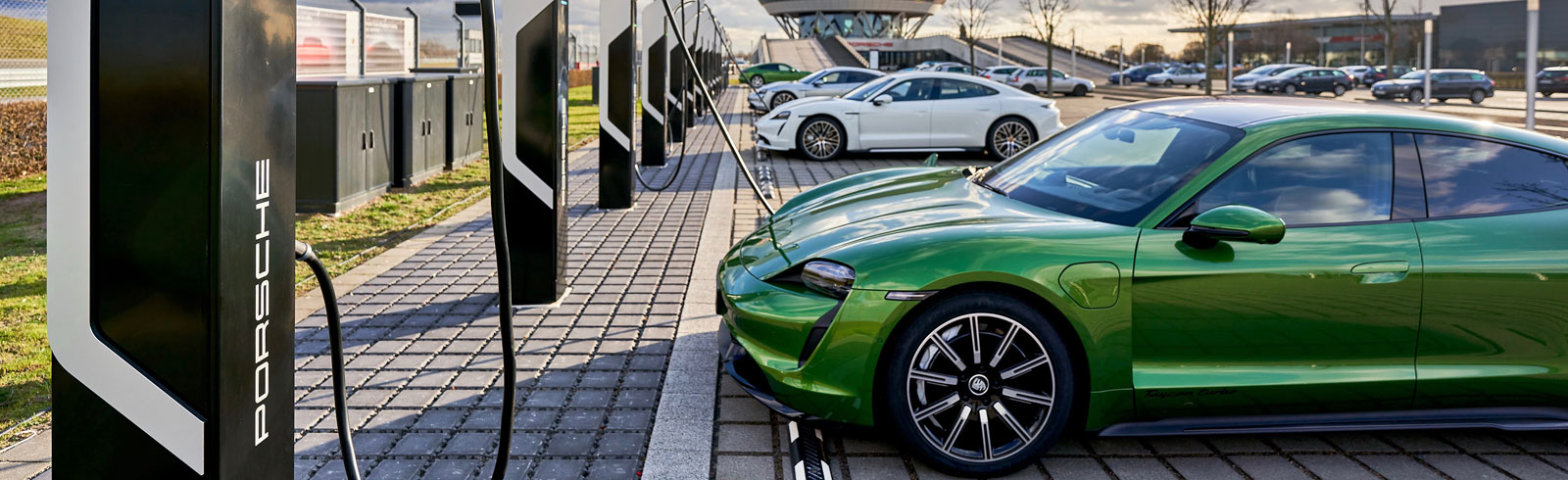 Porsche Turbo Charing is Europe's most powerful rapid-charging park