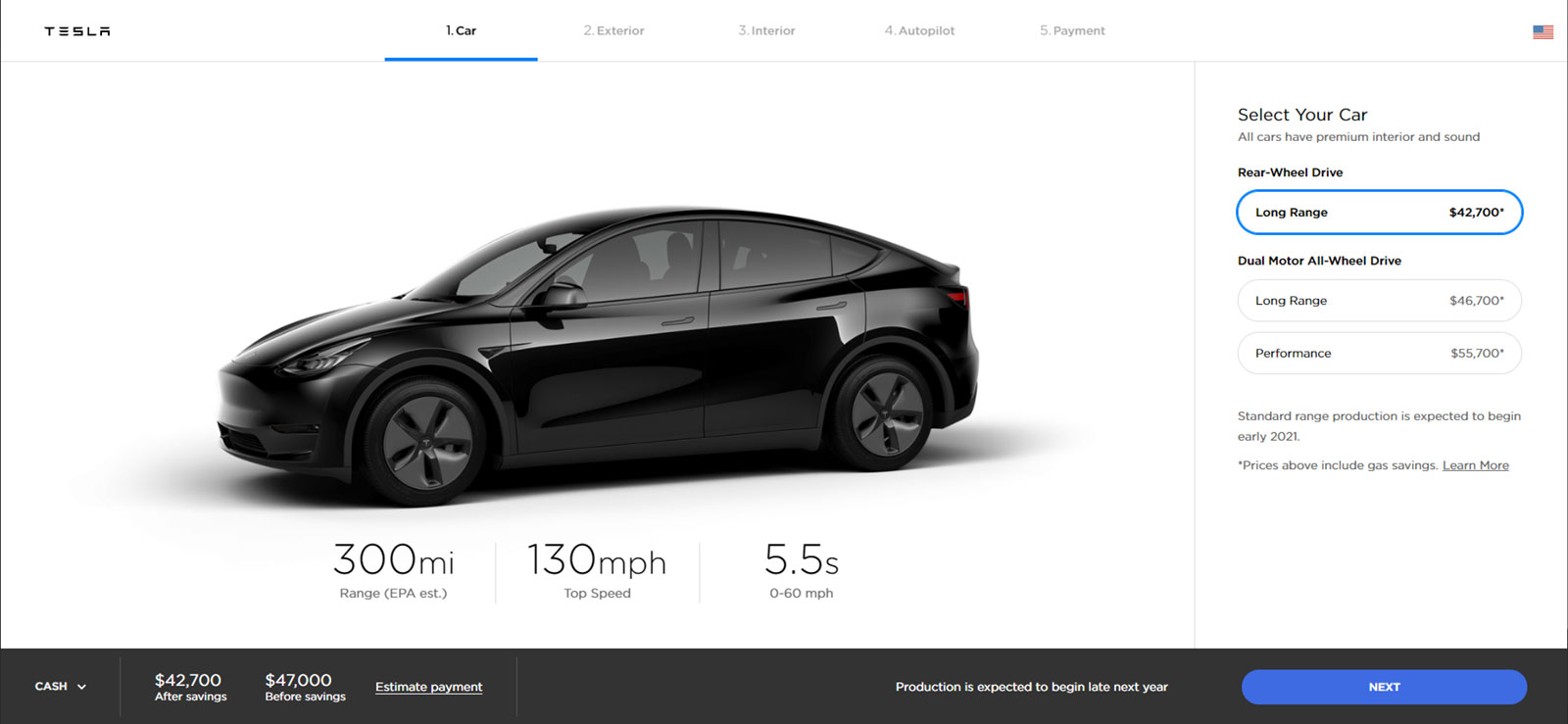 58b6e283c29f82 Here you can check the specifications of Tesla models currently available  and compare them with what is known about Model Y at present.