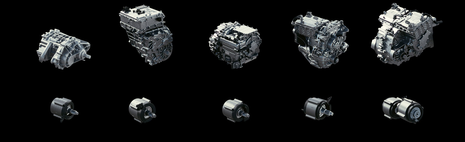 GM introduced a whole family of interchangeable drive units and motors for its future EVs