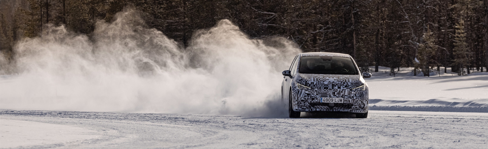 The all-electric CUPRA Born finishes its testing in extreme environment