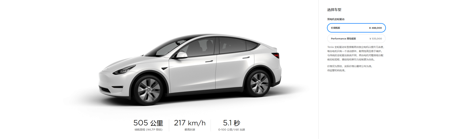 The Model Y produced at the Tesla Giga Shanghai granted permission for sales and purchase tax exemption