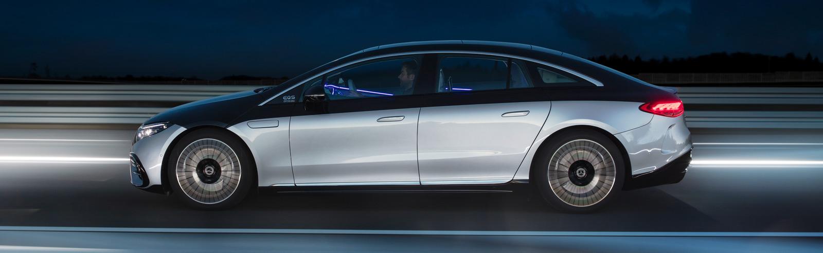 2022 Mercedes-Benz EQS 450+ and EQS 580 4MATIC go official