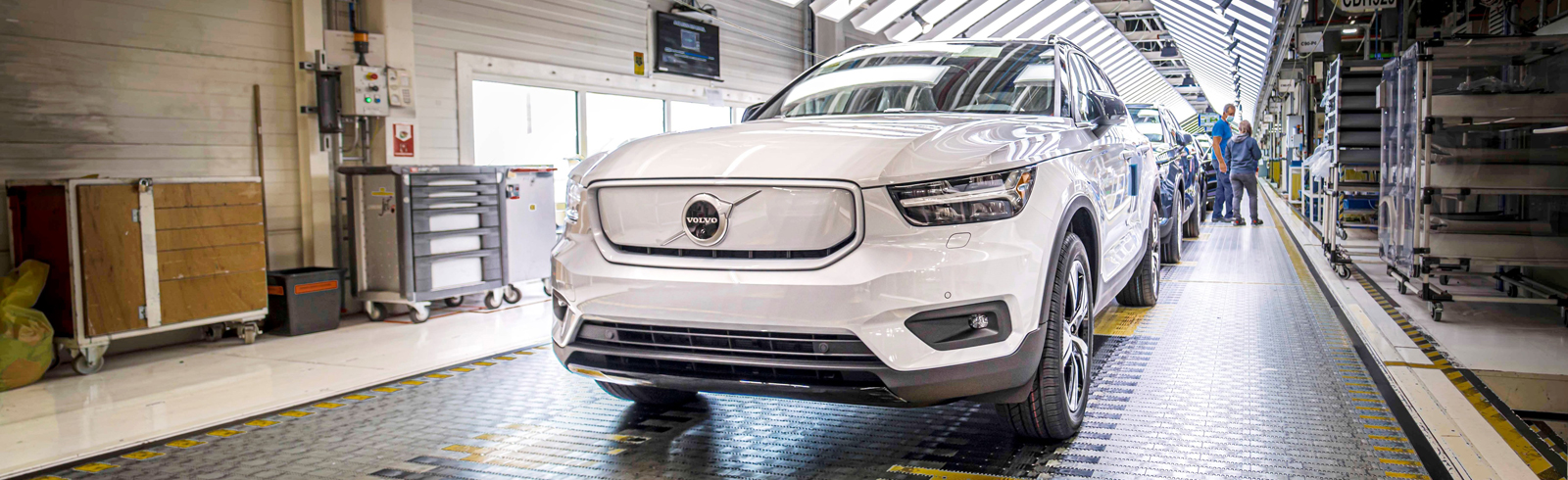 Volvo will triple EV production capacity at its plant in Ghent