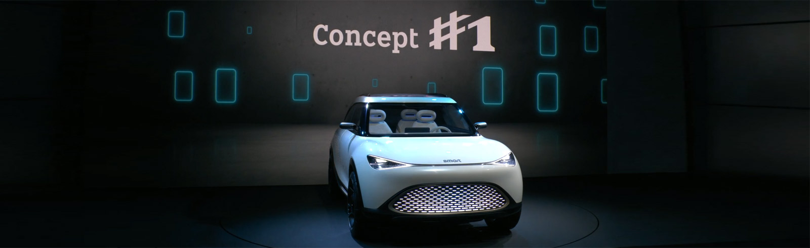 The smart Concept #1 is unveiled at IAA Mobility 2021