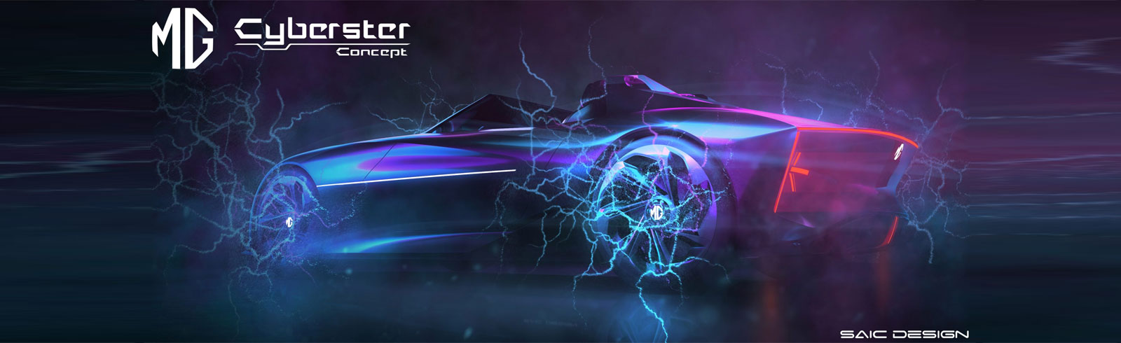 SAIC Motor which owns MG teases the MG Cyberster Concept - an all-electric roadster