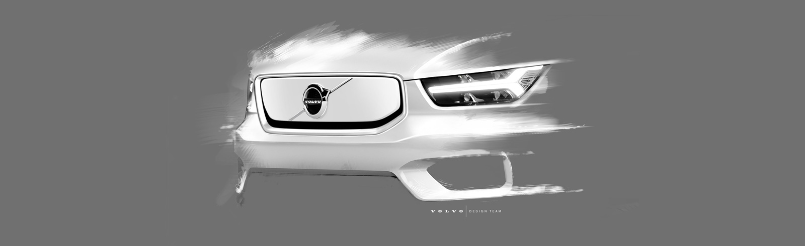 The fully-electric Volvo XC40 is teased again, will be based on the CMA platform