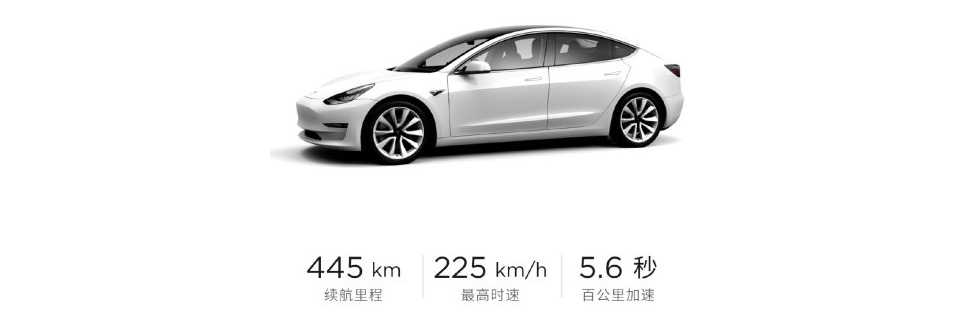Tesla Model 3 Standard Range Plus in China is discounted to CNY 299,050