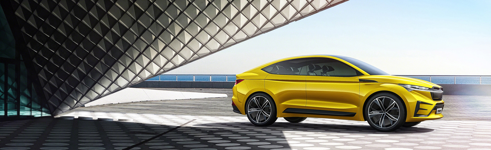 Škoda Vision iV is presented at the 2019 Geneva Motor Show