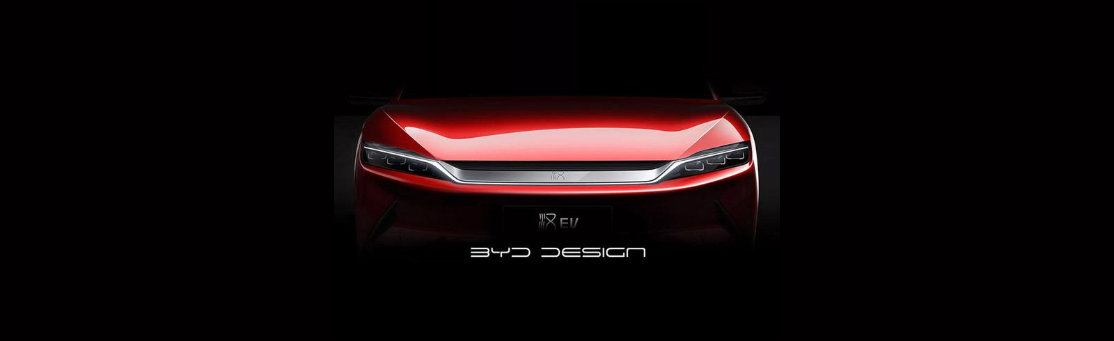 BYD teases the BYD Han EV sedan with up to 500 km of range (NEDC)