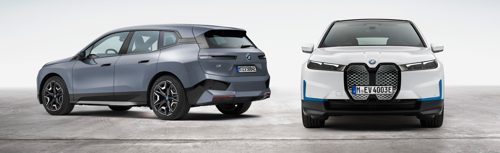 The new BMW iX xDrive40 and new BMW iX xDrive50 - main specifications and prices