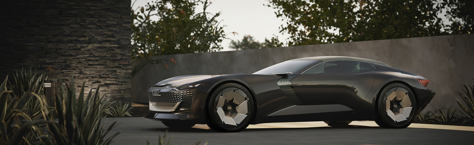 The Audi skysphere concept roadster is unveiled
