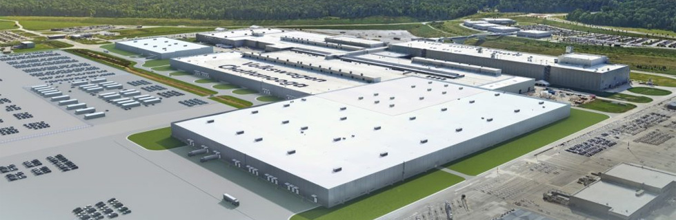 Volkswagen begins the construction of the Chattanooga plant extension for EV production