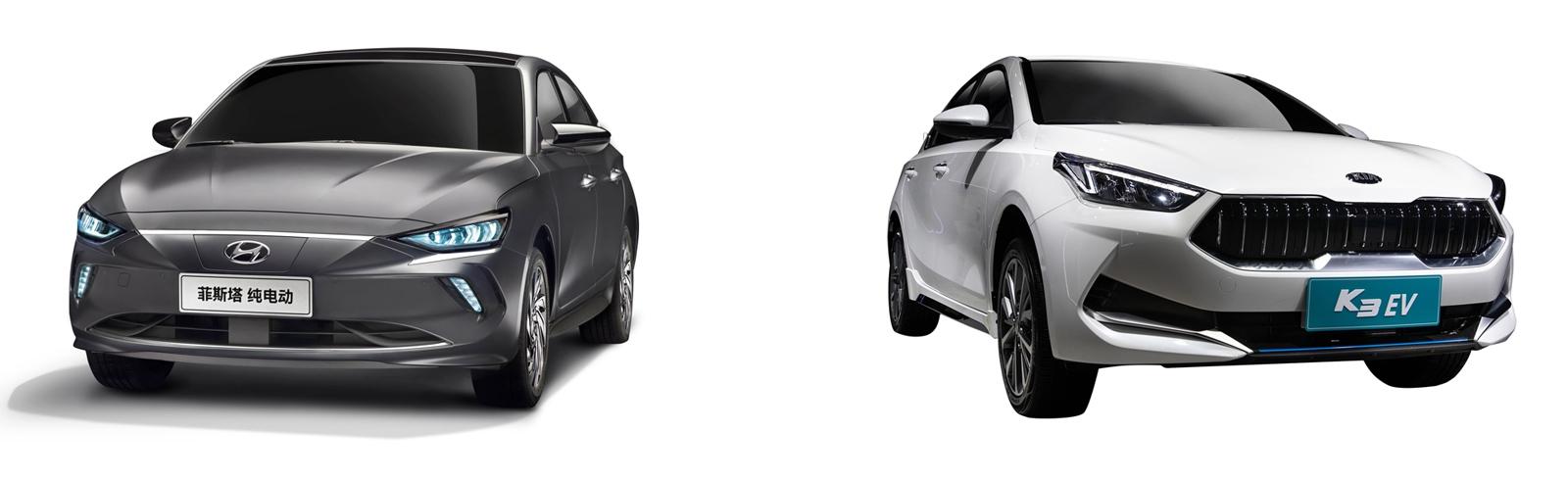 Hyundai Lafesta EV and Kia K3 EV will launch in China next year