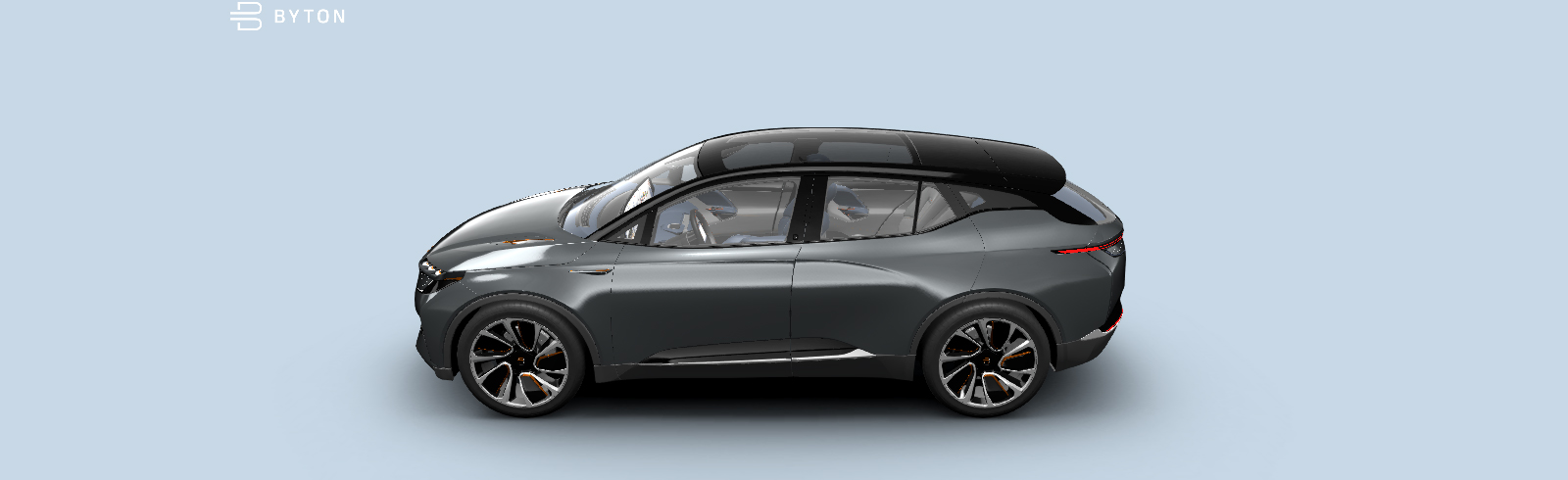 BYTON's M-Byte SUV will debut in mid-2019 and mass production is scheduled for the end of the year
