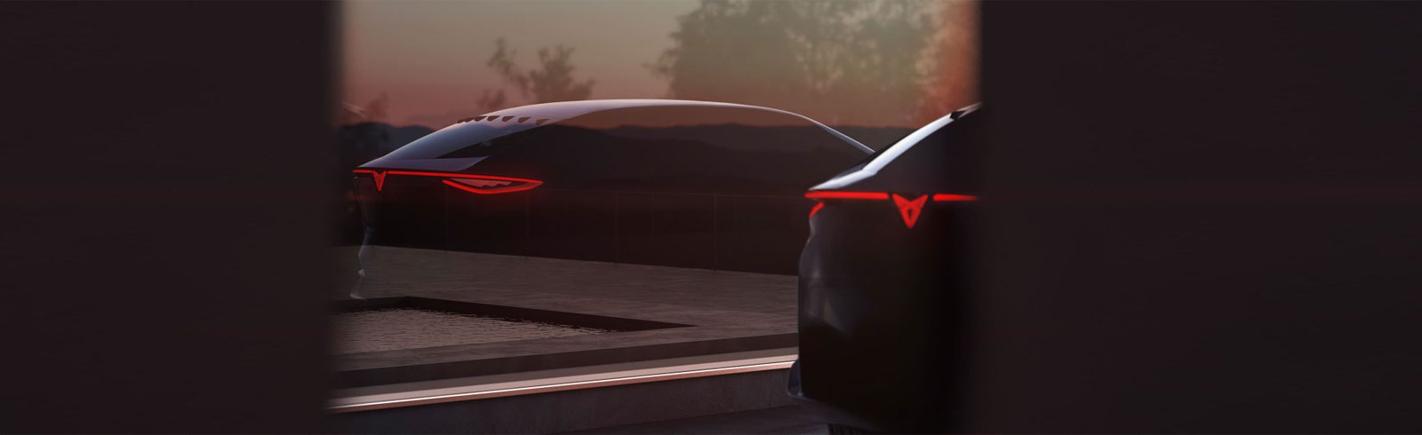 SEAT teases an all-electric Cupra concept model