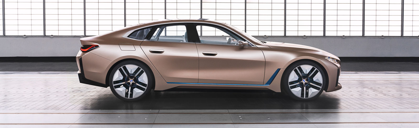 BMW Concept i4 official photos